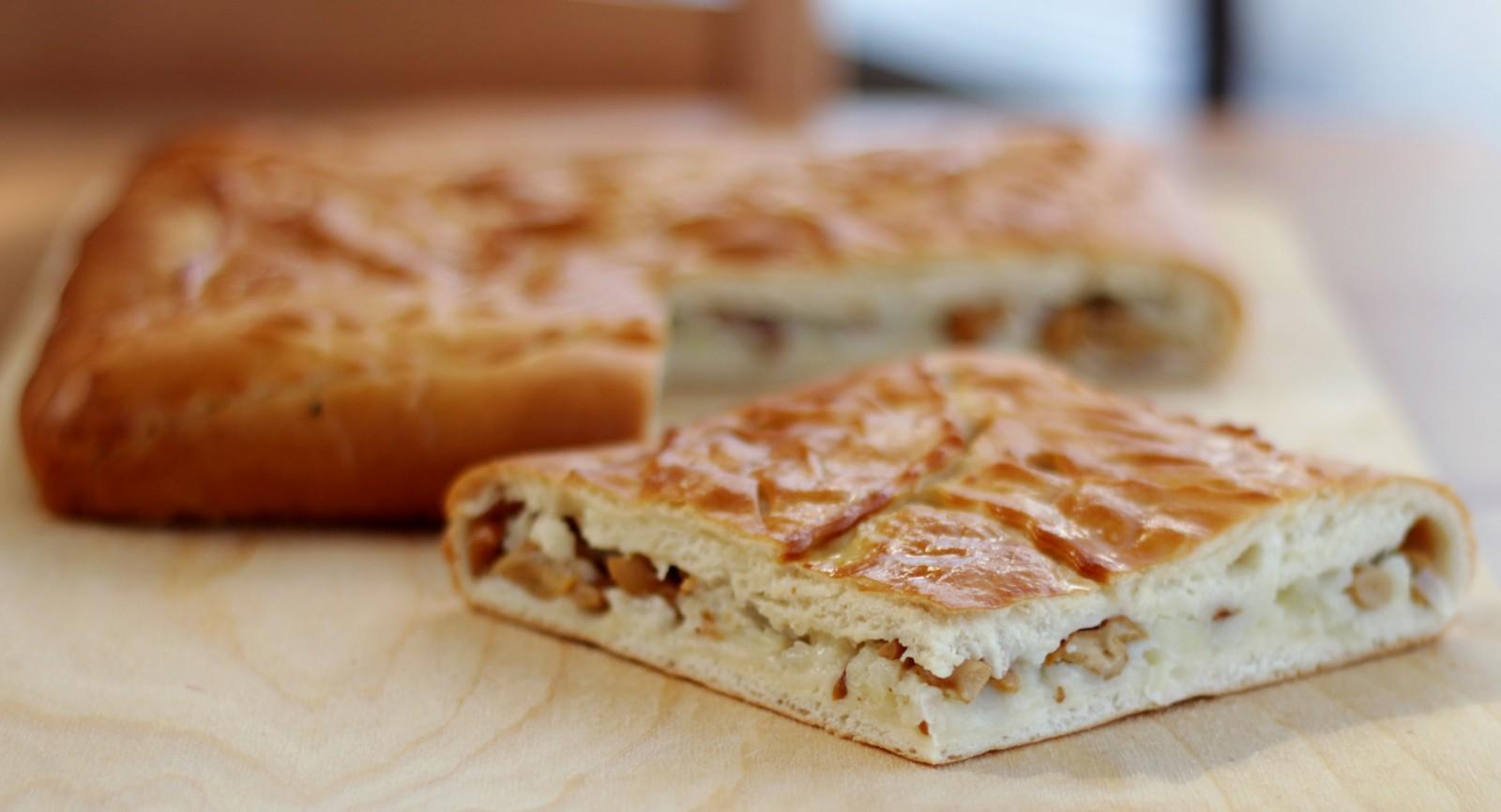 Пирог с грибами рецепты пошагово